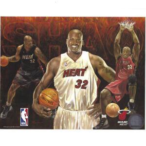 Shaquille Shaq O'Neal Miami Heat NBA #32 8x10 Photo Picture