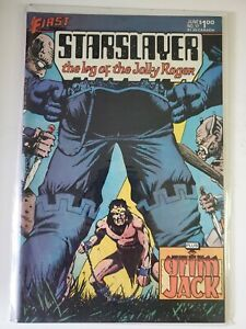 STARSLAYER #17 THE LOG OF THE  JOLLY ROGER, GRIM JACK story - VF/NM