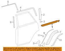TOYOTA OEM 10-16 4Runner Rear-Window Sweep Belt Felt Molding Right 7572135011