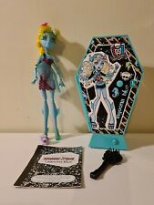 Mattel Muñeca Monster High-Lagoona Blue - 13 Wishes-con Caja, diario, pescado