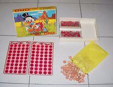 TOMBOLA DELL'ORO ZIO PAPERONE Walt Disney Bingo Promo STANDA Scrooge McDuck RARO