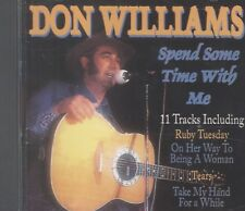 Don Williams spend some time with me cd