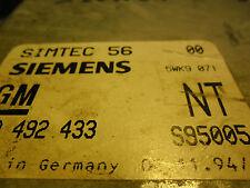 OPEL-X20XEV-STGT-SIMTEC 56-MOTOR/90 492 433/90402433/S95005/NT