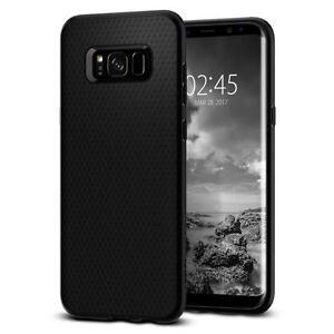 For Samsung Galaxy S8 Spigen® [Liquid Air Armor] Shockproof Slim TPU Case Cover