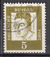 BRD 1961 Mi. Nr. 347 Fl. P. Gestempelt LUXUS!!!