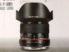 Sam Yang 14 mm Lente Para Canon