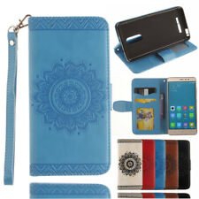 For Xiaomi Redmi Note 3 Wallet Flower Flip Stand PU Leather Case Card Slot Cover