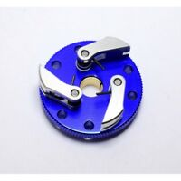 Hot Racing TRX100S306 Traxxas 2.5 3.3 Blue Aluminum Flywheel 3-Shoe Clutch Kit