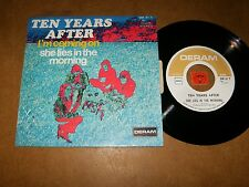 TEN YEARS AFTER - I'M COMING ON - SHE LIES IN THE  - 45 PS  / LISTEN - POP ROCK