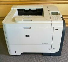 HP LASERJET P3015 Enterprise Commercial Printer Tested