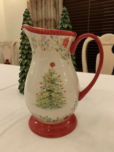 Pioneer Woman Christmas Holiday Cheer Pitcher, NEW