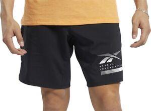 Reebok Epic Lightweight Mens Training Shorts - Black