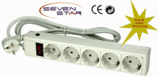220V 5-Outlet Surge Protector Power Strip 72 Joules FS