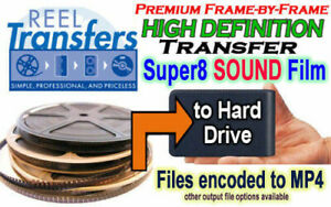 HD Transfer Super8 SOUND film to Hard Disk Drive (Sound Included!)