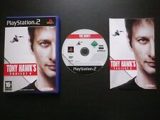 TONY HAWK'S PROJECT 8 : JEU Sony PLAYSTATION 2 PS2 (Activision COMPLET suivi)