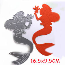 Mermaid Metal Cutting Dies Stencil Scrapbooking Card Paper Embossing Craft DIY