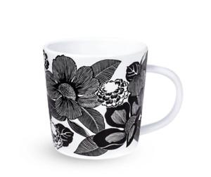 Vera Bradley Ceramic Mug Bedford Blooms White 12 oz