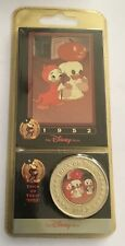 Disney Decades The 50's 1952 Trick Or Treat Coin Medal Mickey Mouse World