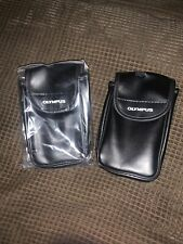 Lot Of 2 Olympus Camera Bag Case W/ Belt Attachment Brand New