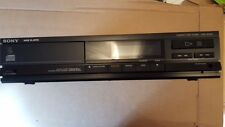 Sony CDP-M20S Black CD Player separates untested spares repair no cable lead pic