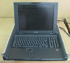 HP TFT5600 RKM Rackmount LCD TFT 15' Console Monitor, Keyboard Trackball