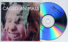 CAGED ANIMALS In The Land Of Giants UK 12-trk promo test CD