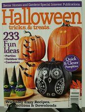 Better Homes Halloween Tricks Treats Fun Ideas Easy Recipe 2015 FREE SHIPPING JB