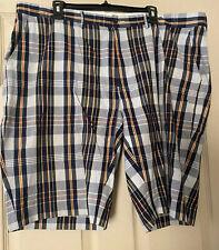 Men's Polo Ralph Lauren Plaid Shorts Navy/White 42