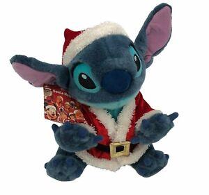Disney Santas Helpers Stitch Christmas Plush Stuffed Animal Lilo and Stitch