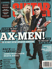 GUITAR WORLD May 2014 ZAKK WYLDE Black Label Society SATRIANI Summer Song TAB