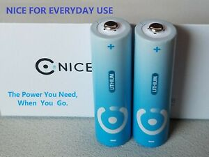 2 * AA  super light 3000mAh Long lasting Lithium Battery Lithium Batteries