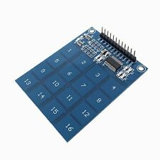 Touch Keypad Switch 16-way Button Capacitive Touch Keyboard TTP229 for Arduino