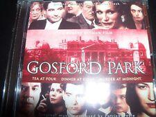 Gosford Park Original Movie Soundtrack CD - Like New