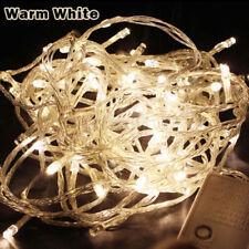 10M~100LED SMD Fairy String Lights Christmas Xmas Party Lamp EU 220V Warm White