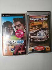Lot de 2 jeux PSP