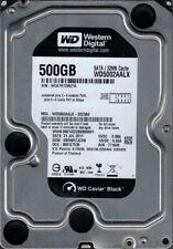 Western Digital WD5002AALX-32Z3A0 500GB DCM: EBRNHTJCHB