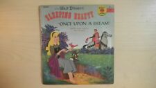Little Golden Yellow Record Sleeping Beauty ONCE UPON A DREAM 78rpm 1958