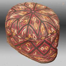 Antique Tekke Turkmen Embroidered Hat  - Free Shipping!