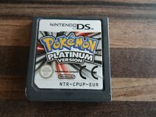 POKEMON PLATINUM VERSION DS DSI 2DS 3DS 100% GENUINE  UK PAL NICE CONDITION
