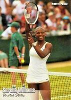 SERENA WILLIAMS 10 count 2003 NetPro SHORT PRINT SP Tennis Rookie Card #100 LOT