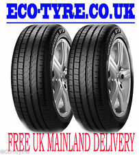 2X Tyres 245 45 R18 96Y Pirelli P7 Cinturato RFT RunFlat E B 71dB