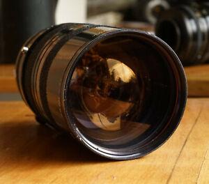 Rare Tamron 35 - 100mm 1:3.5 Macro Zoom Lens Adaptall M42 Screw mount w/ caps