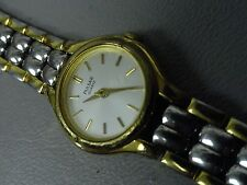 Pulsar ladies watch petite 6 inch stainless 2 tone min/normal wear pretty nice