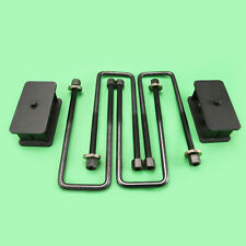 "88-98 GMC Chevy C1500 C2500 C3500 Yukon Tahoe 2x4 2WD Steel Rear 2"" Lift Kit"