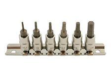 Laser Tools 5682 1/4 Drive Hex Allen Key Socket Bits 1.5mm - 6mm On Socket Rail
