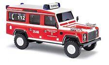 BUSCH 50317 Land Rover Defender Feuerwehr Braunlage H0 #NEU OVP#