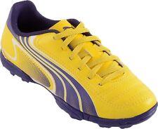 New Men´S Original Puma V6.11 Tt Yellow Soccer Turf Shoes Sz Us 9