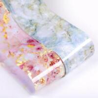 Candy Marble Nail Foils Glitter Foil Nail Art Stickers Transfer Decals Tips A9E7