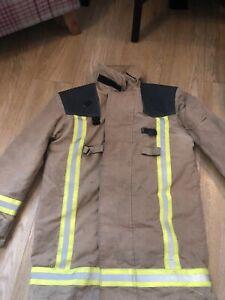 Firefighter Jacket Goretex Lined Heavyweight Bristol Fire Service Tunic Reg/Med