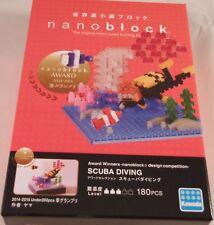 Kawada nanoblock SCUBA DIVING - japan building toy block  NEW NBC_276 Worldwide